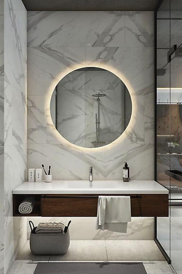 32 cách trang trí cho phòng tắm có diện tích nhỏ hẹp vô cùng hiệu quả 3
