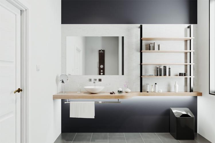 32 cách trang trí cho phòng tắm có diện tích nhỏ hẹp vô cùng hiệu quả 5