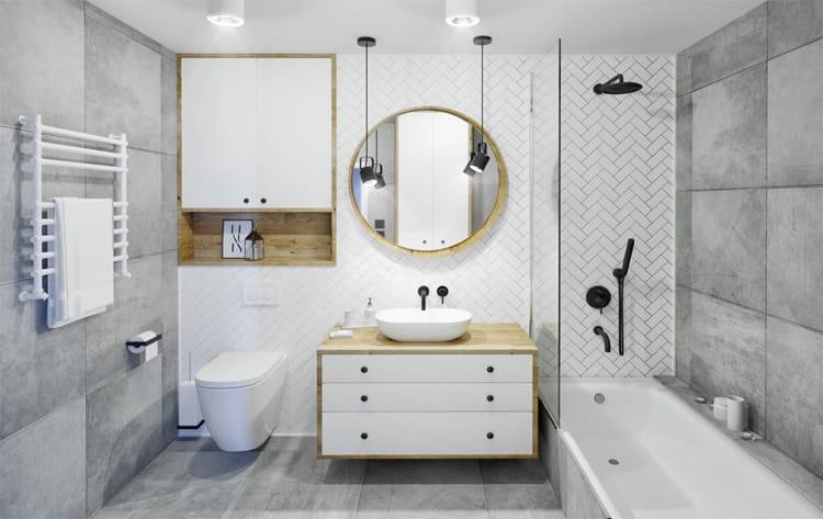 32 cách trang trí cho phòng tắm có diện tích nhỏ hẹp vô cùng hiệu quả 6