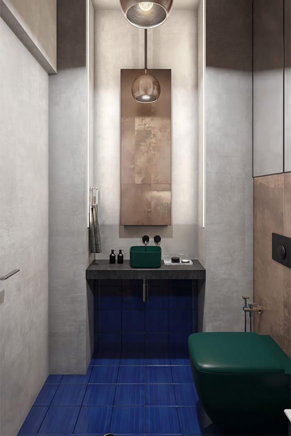 32 cách trang trí cho phòng tắm có diện tích nhỏ hẹp vô cùng hiệu quả 9