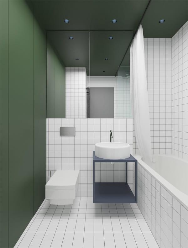 32 cách trang trí cho phòng tắm có diện tích nhỏ hẹp vô cùng hiệu quả 12