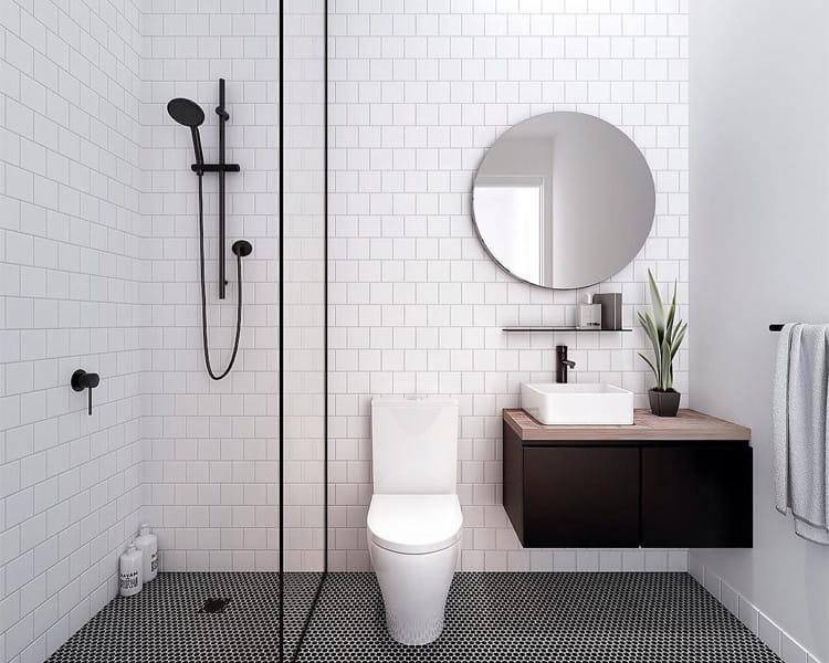 32 cách trang trí cho phòng tắm có diện tích nhỏ hẹp vô cùng hiệu quả 14