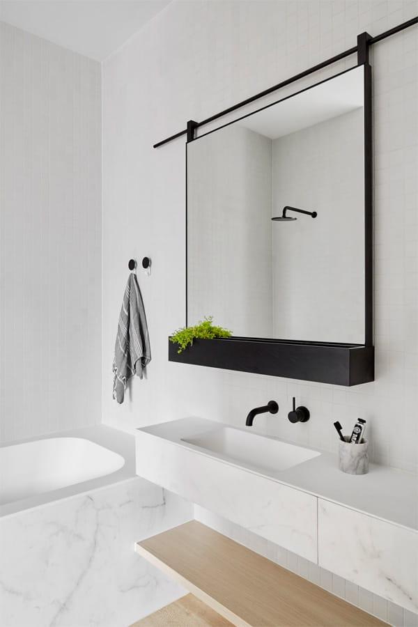 32 cách trang trí cho phòng tắm có diện tích nhỏ hẹp vô cùng hiệu quả 22