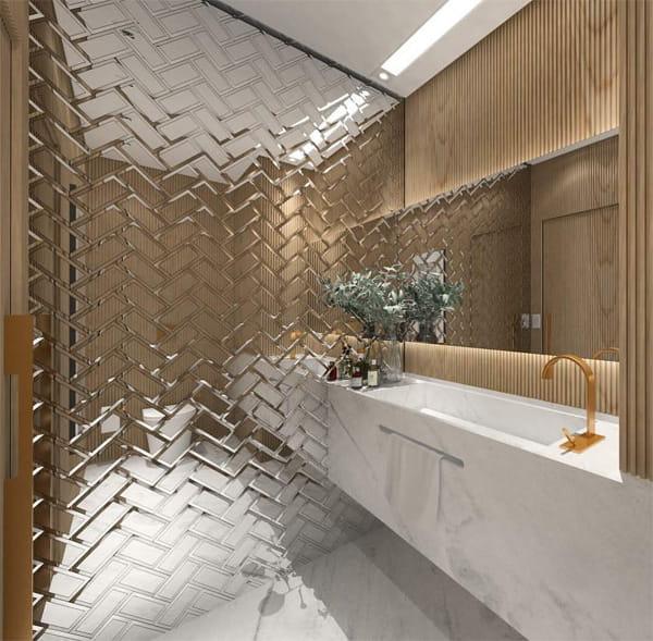 32 cách trang trí cho phòng tắm có diện tích nhỏ hẹp vô cùng hiệu quả 23