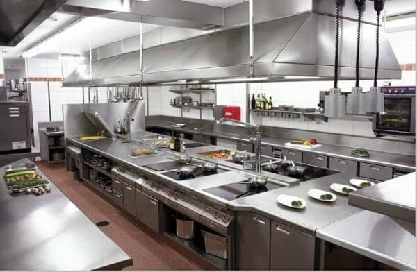Các tiêu chuẩn, nguyên tắc thiết kế bếp nhà hàng