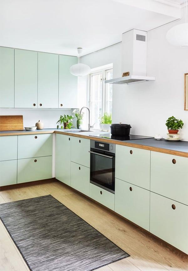 18 ý tưởng phối màu cho nhà bếp theo tông màu Pastel 2