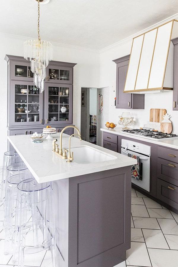 18 ý tưởng phối màu cho nhà bếp theo tông màu Pastel 6