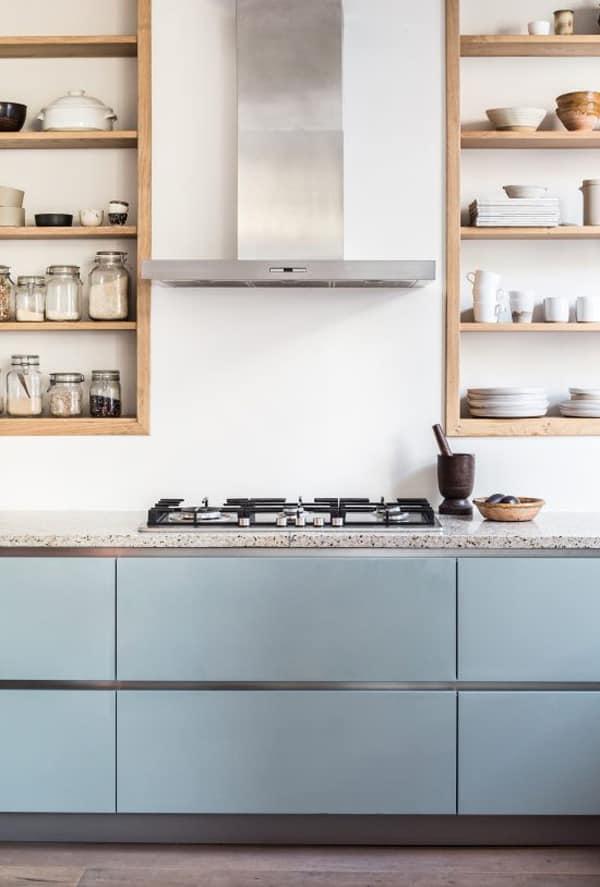 18 ý tưởng phối màu cho nhà bếp theo tông màu Pastel 7