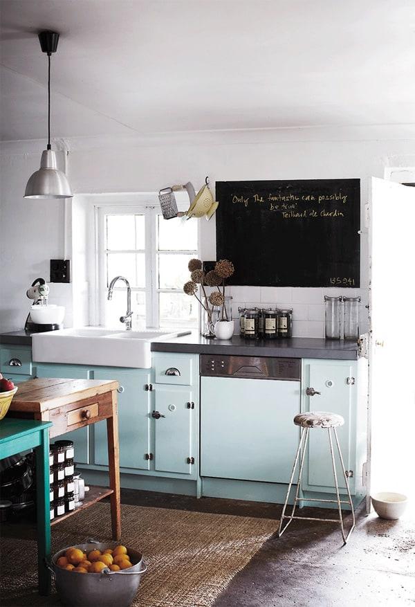 18 ý tưởng phối màu cho nhà bếp theo tông màu Pastel 8