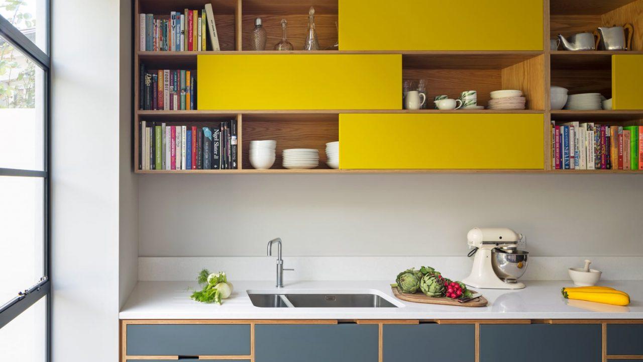Y tưởng phối màu cho nhà bếp theo tông màu Pastel