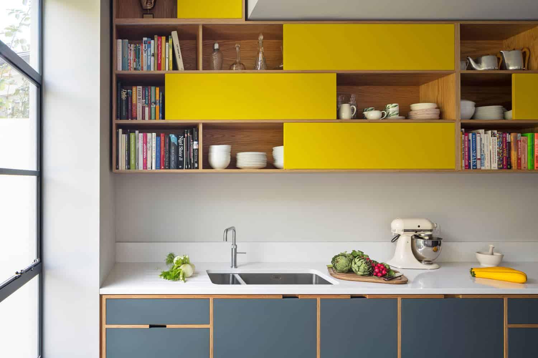 18 ý tưởng phối màu cho nhà bếp theo tông màu Pastel 11