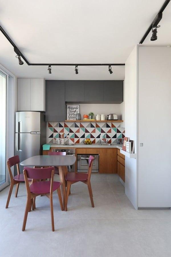 18 ý tưởng phối màu cho nhà bếp theo tông màu Pastel 15