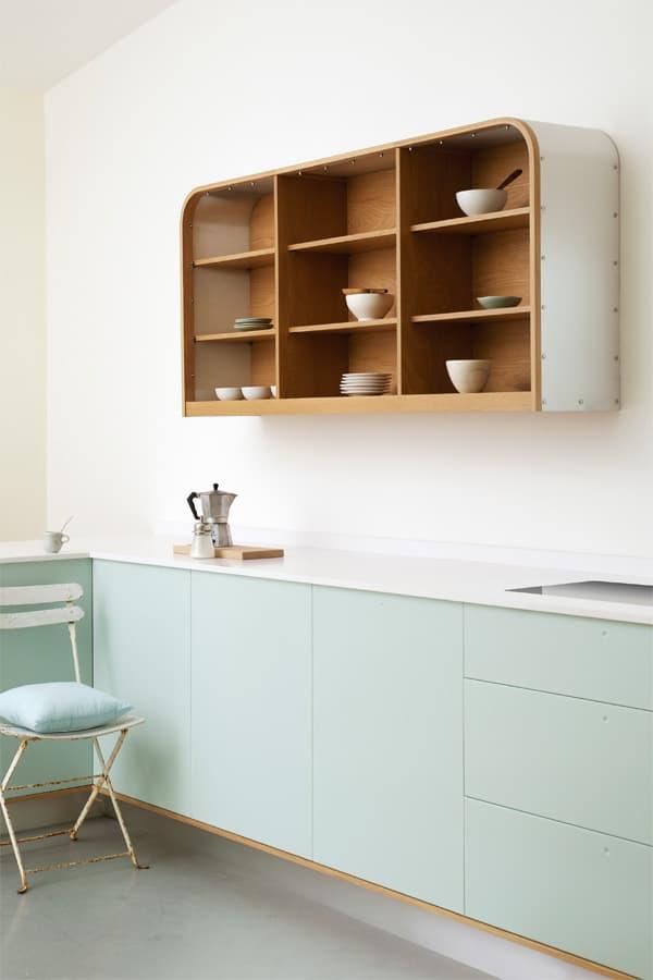 18 ý tưởng phối màu cho nhà bếp theo tông màu Pastel 17