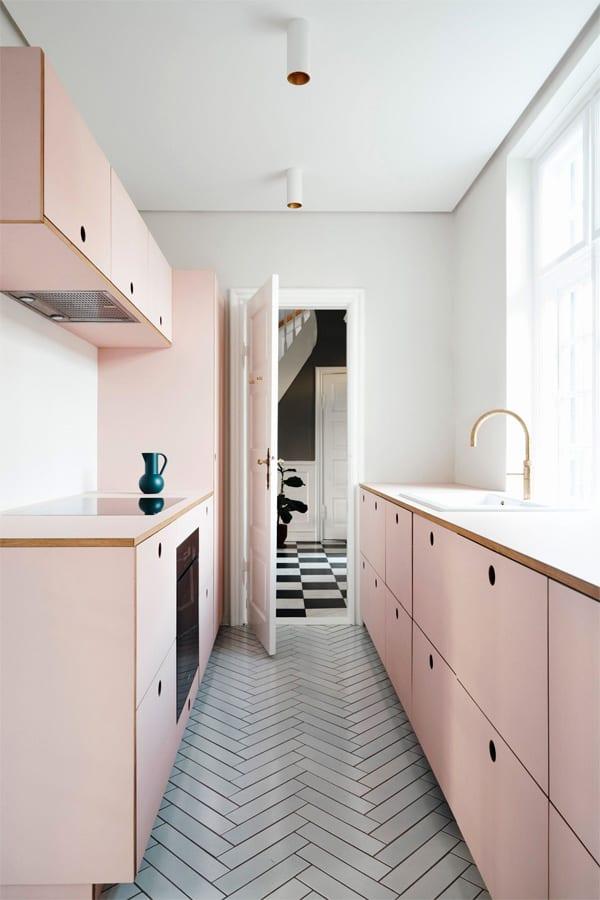 18 ý tưởng phối màu cho nhà bếp theo tông màu Pastel 18