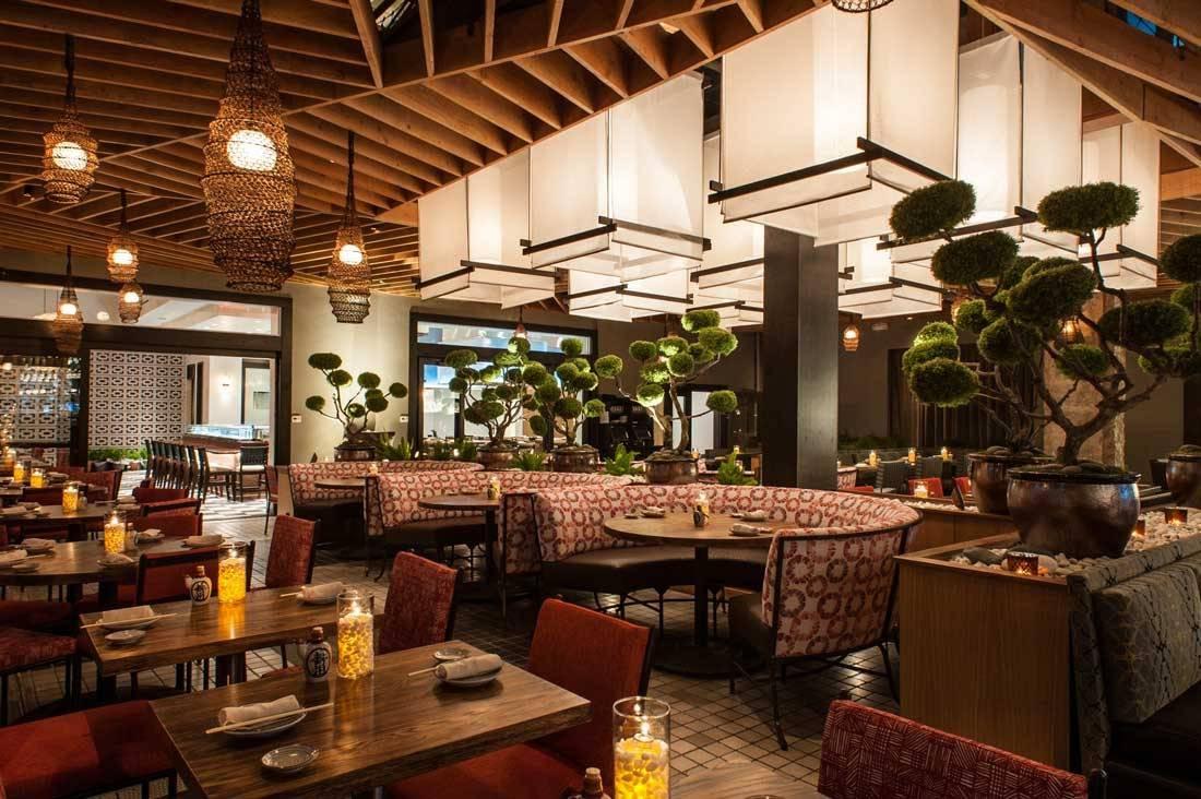 Thiết kế nhà hàng Roku Nhật