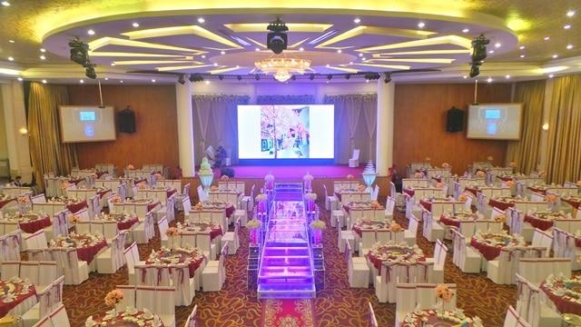 Tìm hiểu các tiêu chuẩn thiết kế nhà hàng tiệc cưới