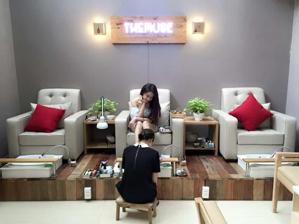 Trang trí tiệm nail phù hợp mục đích kinh doanh