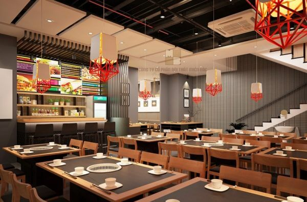 Tìm hiểu các mẫu thiết kế nhà hàng Hàn Quốc