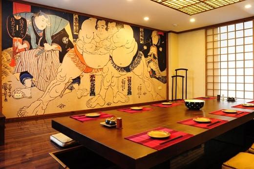 Nhà hàng phong cách Nhật độc đáo