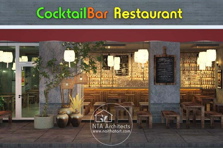 Nhà hàng theo phong cách đồng quê