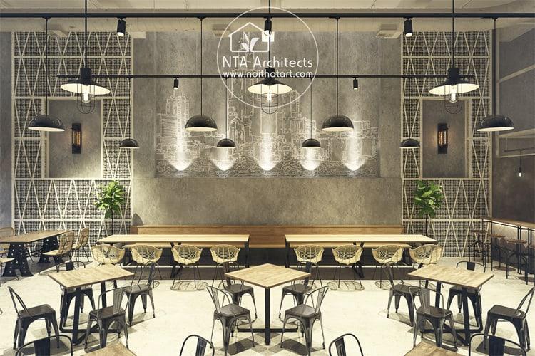 Không gian nhà hàng cần tạo nên cảm giác mong muốn được khám phá