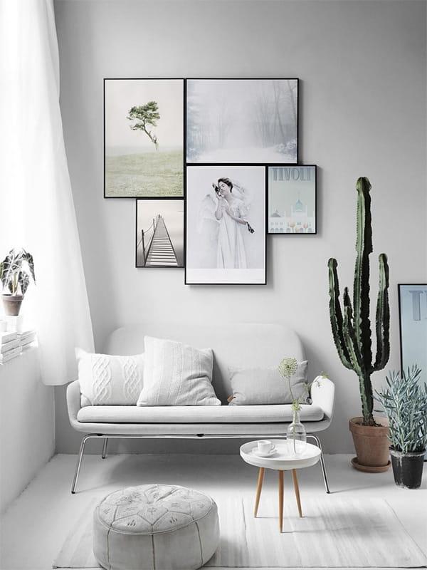 16 ý tưởng trang trí phòng khách nhỏ xinh khiến ai cũng mê 2
