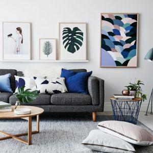 Ý tưởng cách trang trí phòng khách có diện tích nhỏ hẹp