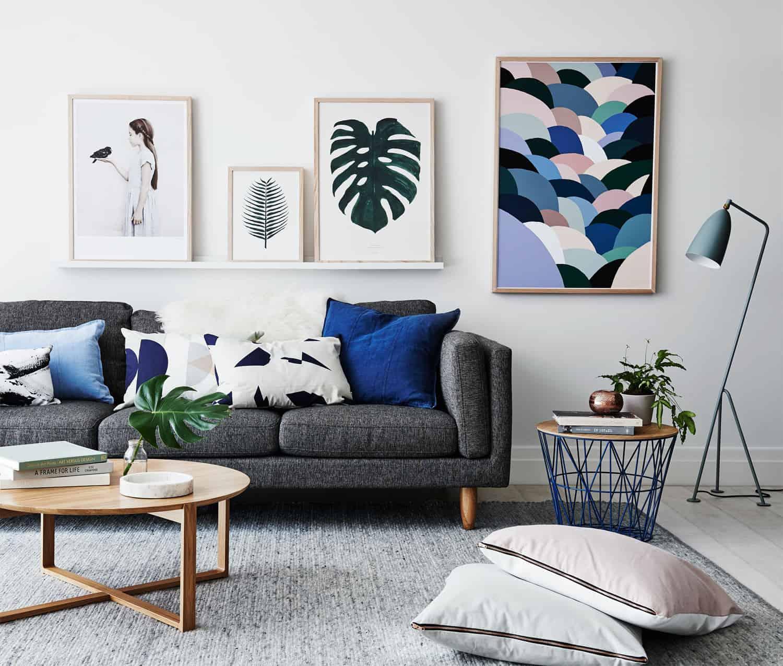 16 ý tưởng trang trí phòng khách nhỏ xinh khiến ai cũng mê 15