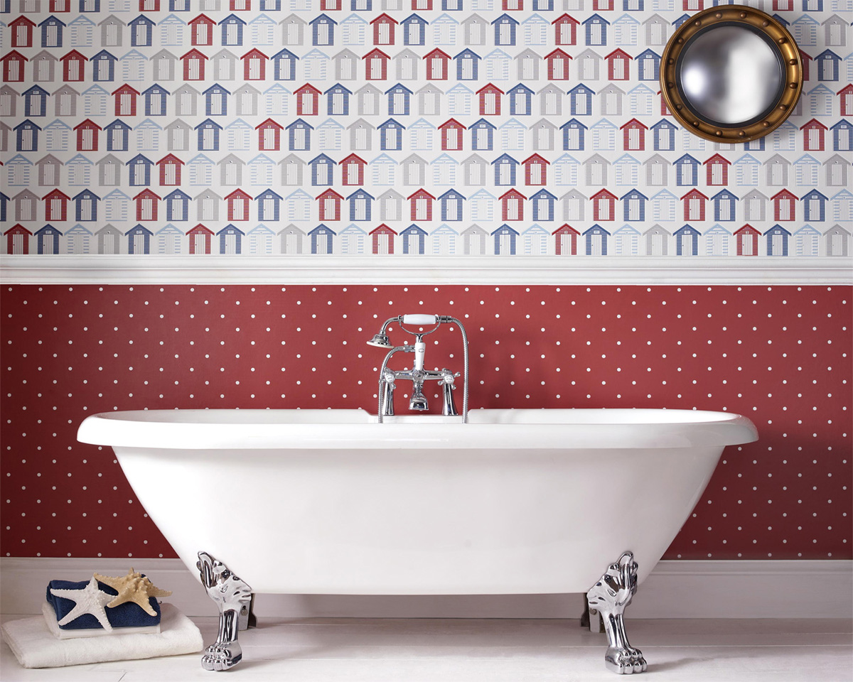 Nâng cấp không gian bằng những tông màu nổi bật cho phòng tắm 7