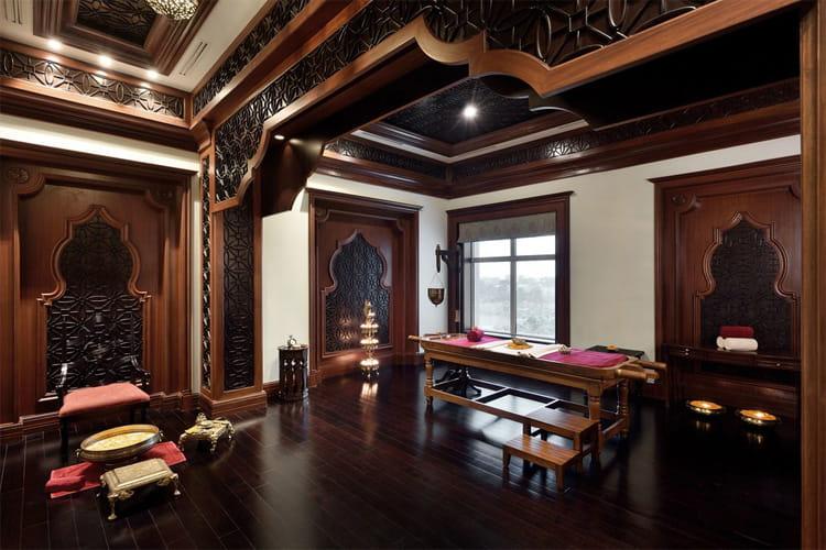 Mẫu phòng spa theo phong cách Ấn Độ