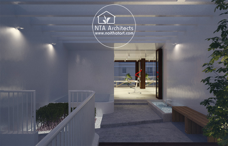 Mẫu thiết kế và trang trí phòng tắm spa tại nhà như một spa cao cấp 10