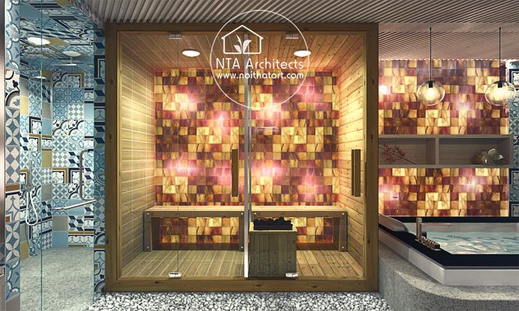 Mẫu thiết kế và trang trí phòng tắm spa tại nhà như một spa cao cấp 4