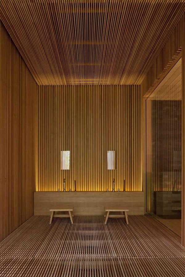 Vật liệu gỗ tạo sức hút trong trang trí spa