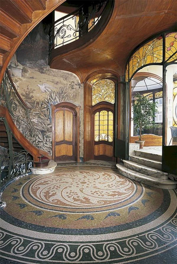 Phong cách kiến trúc Art Nouveau cổ điển