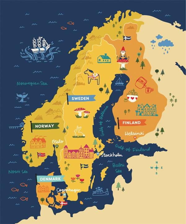 Phong cách Scandinavian là gì? Top 10 cách trang trí nhà kiểu Bắc Âu