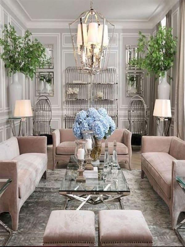 Bí quyết lựa chọn đèn trần trang trí phòng khách đẹp và phù hợp 2