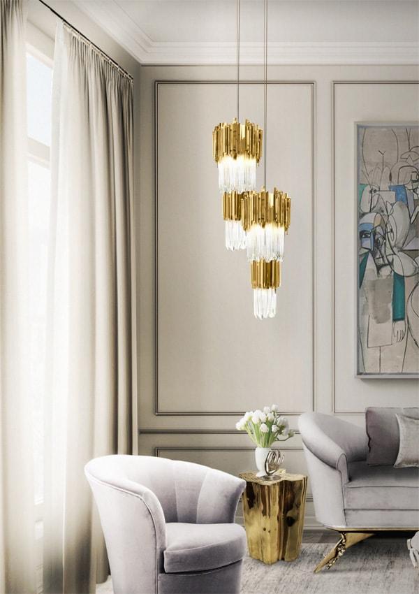Bí quyết lựa chọn đèn trần trang trí phòng khách đẹp và phù hợp 4