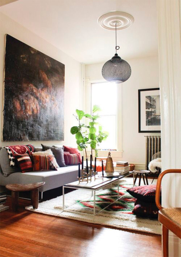 Bí quyết lựa chọn đèn trần trang trí phòng khách đẹp và phù hợp 8