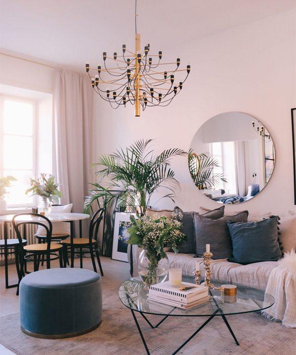 Bí quyết lựa chọn đèn trần trang trí phòng khách đẹp và phù hợp 1