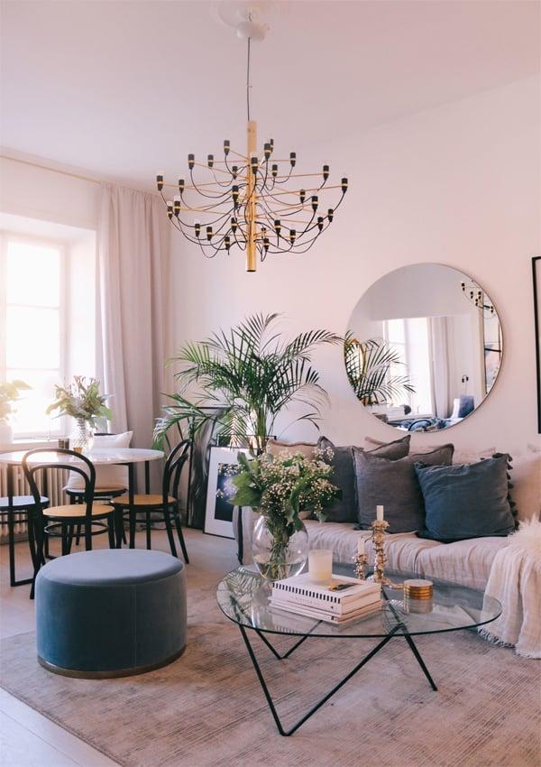 Bí quyết lựa chọn đèn trần trang trí phòng khách đẹp và phù hợp 9
