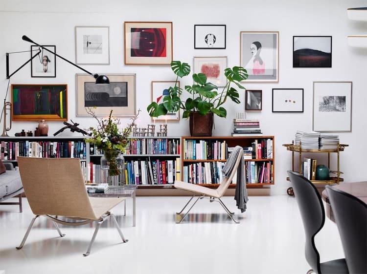 Nghệ thuật tranh tường canvas được yêu thích bởi sự tự do và sáng tạo không giới hạn