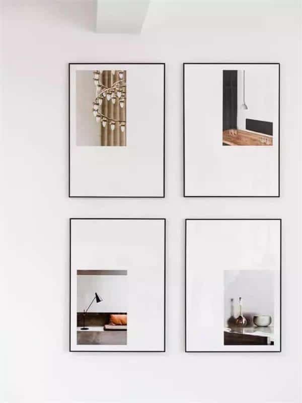 Tranh tường giúp tạo điểm nhấn hiệu quả