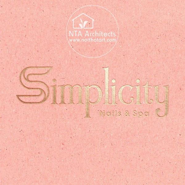 Simplicity Nails and Spa là một cái tên đẹp và chuyên nghiệp