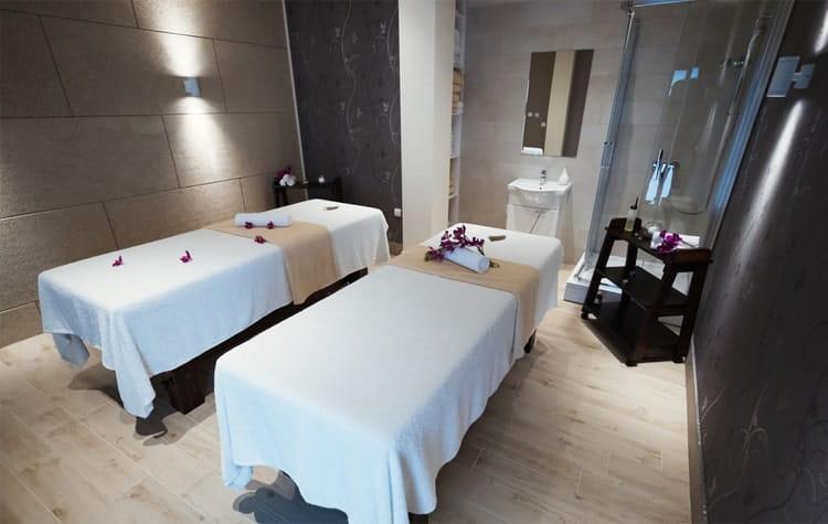 Mẫu phòng spa massage 2 giường đẹp và sang trọng