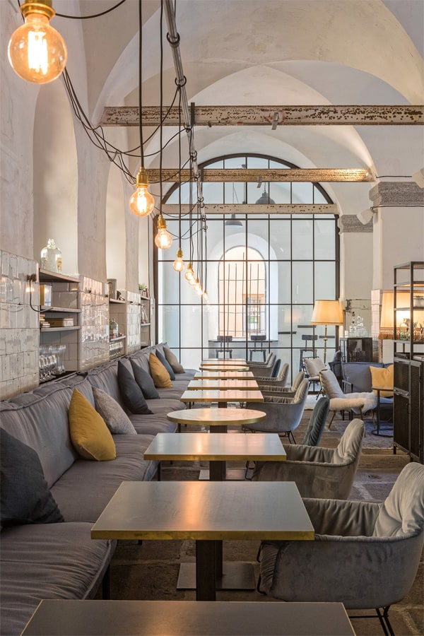 Thiết kế nhà hàng phong cách châu âu