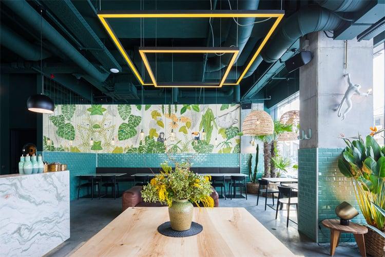 Còn thiết kế nhà hàng ăn nhanh thì có những nguyên tắc nào nhỉ?